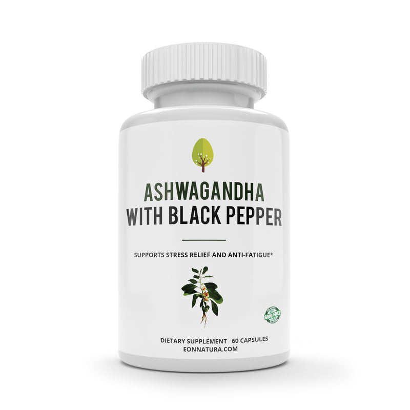 Ashwagandha with Black Pepper, Organic