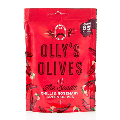 Olly's Olives - The Bandit - Chilli & Rosemary - 50g