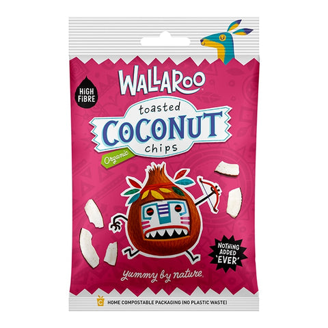 Wallaroo Organic Toasted Coconut Chips 30g