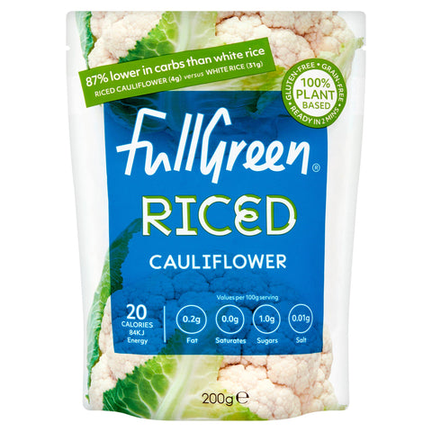 Fullgreen Riced Cauliflower - 200g
