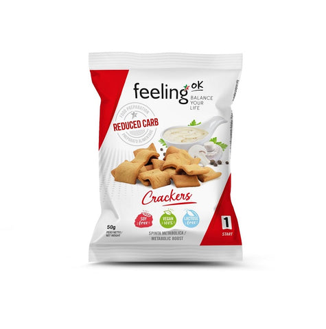 Feeling OK - Crackers Natural - 50g