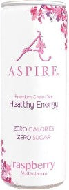 ASPIRE Healthy Energy Drink - Raspberry Lemonade - Zero Calories or Sugar 330 ml