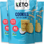 Keto Cookies - Buttery Coconut - 64g