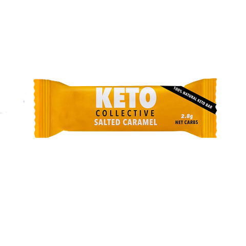 Keto Collective - Salted Caramel Bar - 40g