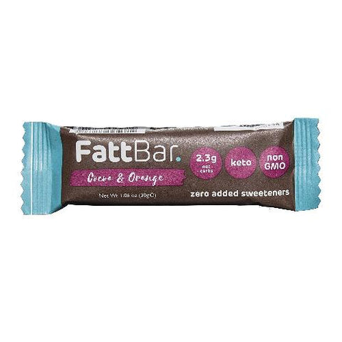 Cocoa & Orange FattBar 2.6 Grams Carbs