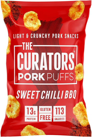 The Curators - Sweet Chilli BBQ Pork Puffs 22g