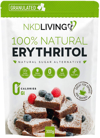 100% Natural Granulated Erythritol - 300g
