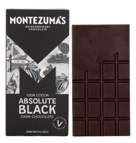 Montezuma's Absolute Black - 100% Cocoa 90g