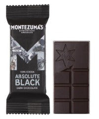 Montezumas - Absolute Black - 100% Cocoa Solids - 25g