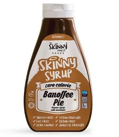 The Skinny Food Co - Banoffee Pie Syrup - 425ml