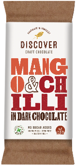 Discover Craft Chocolate - Mango and Chili in Dark Chocolate