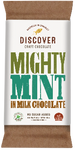 Discover Craft Chocolate - Mighty Mint on Milk Chocolate 50g