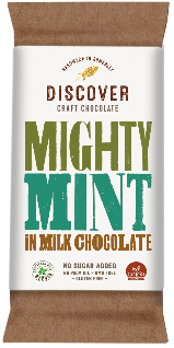Discover Craft Chocolate - Mighty Mint - Milk Chocolate 50g