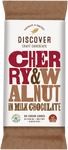 Discover Craft Chocolate - Cherry and Walnut in Milk Chocolate 50g