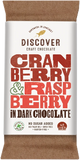 Discover Craft Chocolate - Cranberry and Raspberry in Dark Chocolate 50g