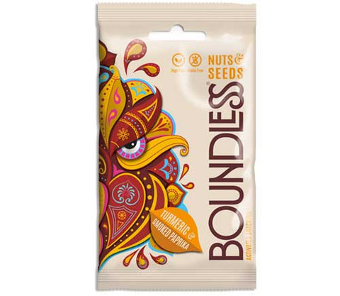 Boundless - Turmeric & Smoked Paprika Activated Nuts and Seeds 30g
