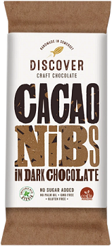 Discover Craft Chocolate - Cacao Nibs in Dark Chocolate