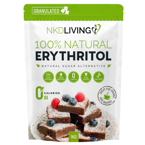100% Natural Granulated Erythritol - 1kg