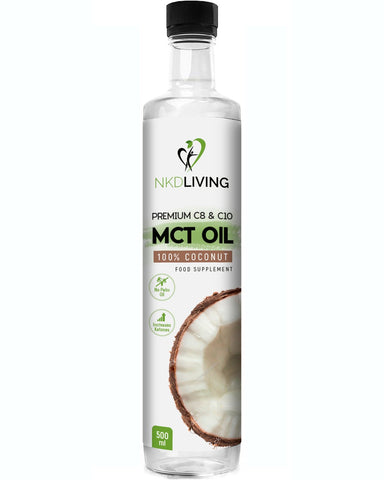 NKDLiving MCT Oil - 500ml