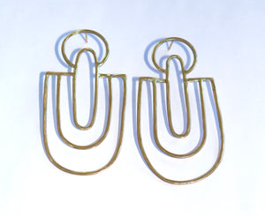 Los Angeles Push-Back Earrings