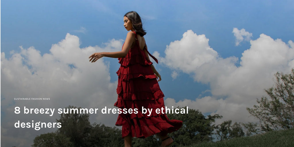 ZERRIN.COM - 8 breezy summer dresses by ethical designers | Whispers & Anarchy