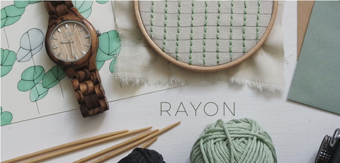 sustainable fabrics to add to your wardrobe, rayon