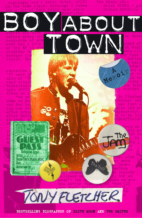 Tony Fletcher: Boy About Town