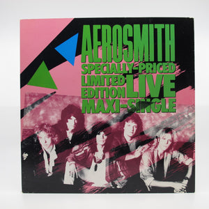 Aerosmith - Specially-Priced Limited Edition Live Maxi-Single