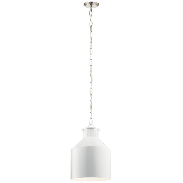 Kichler Three Light Pendant 44307WH-Mini Pendants-HomePlumbing