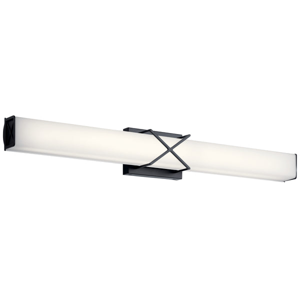Kichler LED Linear Bath 45658MBKLED-Bathroom Fixtures-HomePlumbing