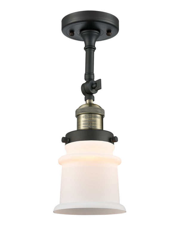 Innovations 201F-BAB-G181S One Light Semi-Flush Mount-Semi-Flush Mts.-HomePlumbing