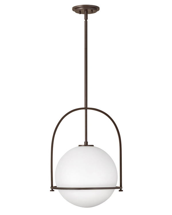 Hinkley 3405KZ One Light Pendant-Pendants-HomePlumbing