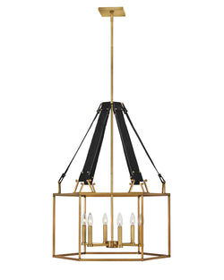 Hinkley 34206HBR Six Light Chandelier