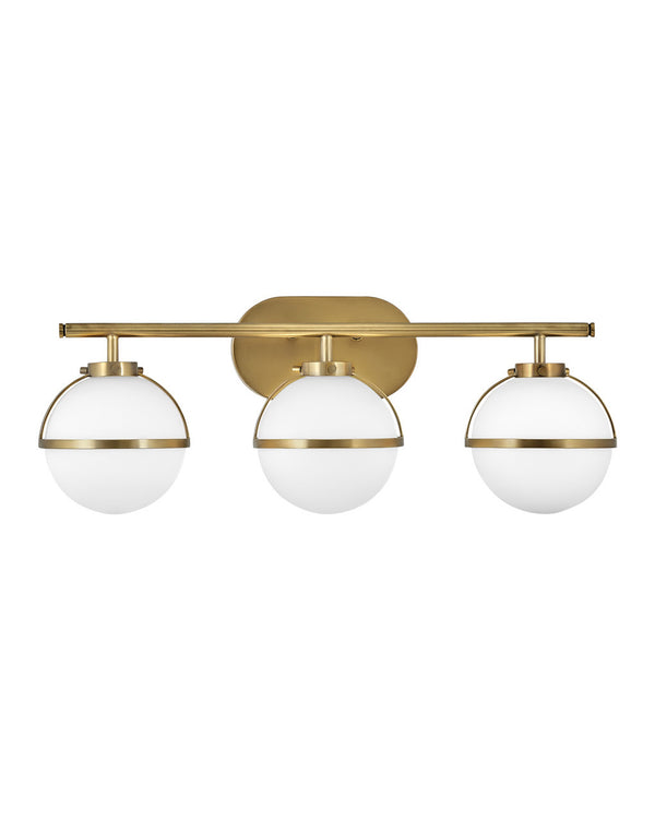Hinkley 5663HB-LL Three Light Bath-Bathroom Fixtures-HomePlumbing