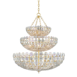 Hudson Valley 8239-AGB 24 Light Chandelier