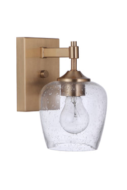 Craftmade 12406SB1 One Light Wall Sconce