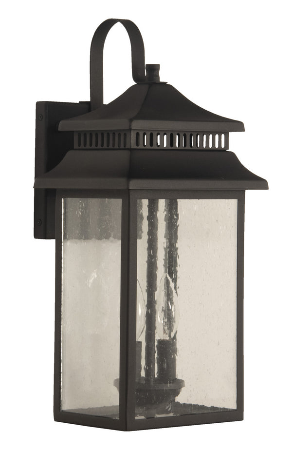 Craftmade ZA3114-TB Two Light Outdoor Lantern-Exterior-HomePlumbing
