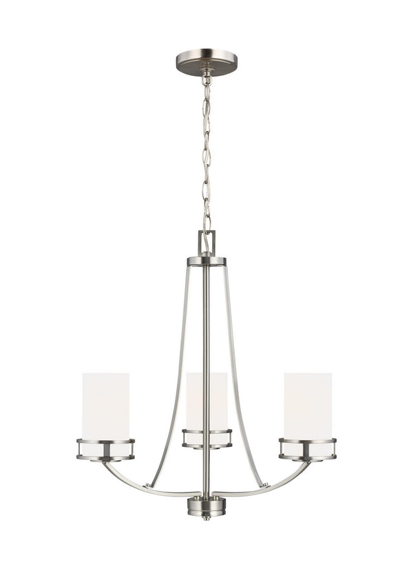Generation Lighting 3121603-962 Three Light Chandelier-Mini Chandeliers-HomePlumbing