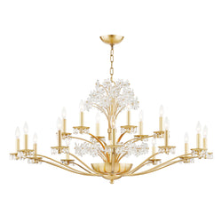 Hudson Valley 4452-AGB 20 Light Chandelier