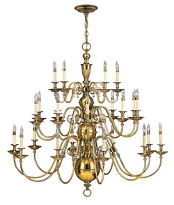 Hinkley 4419BB 25 Light Foyer Chandelier