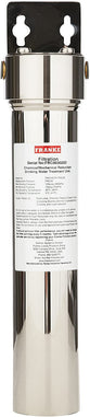 Franke FRCNSTR Undersink Water Filtration Canister, Small, Stainless Steel