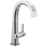 Delta Pivotal 1993LF Single Handle Bar Faucet Chrome-Kitchen-HomePlumbing