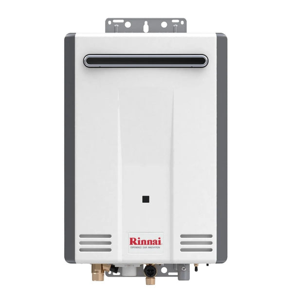 Rinnai Outdoor Whole House Liquid Propane Tankless Water Heater 5.3 Gallons Per Minute V53DeP-tankless water heater-HomePlumbing