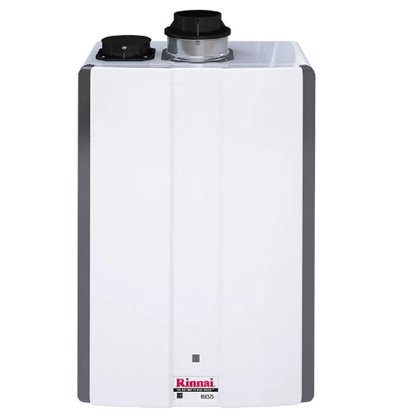 Rinnai 7.5 GPM Residential Indoor Liquid Propane Tankless Water Heater with 160,000 BTU Max Input RUCS75IP-tankless water heater-HomePlumbing