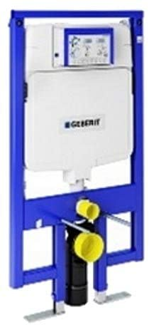 Geberit 111.728.00.1 Concealed Toilet Carrier Frame with UP720 Dual-Flush Tank