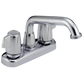 Delta Classic 2121LF Two Handle Laundry Faucet Chrome
