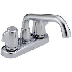Delta Classic 2123LF Two Handle Laundry Faucet Chrome