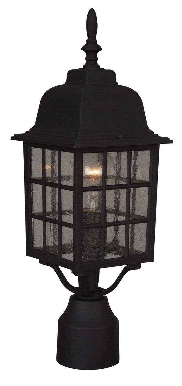 Craftmade Z275-TB One Light Post Mount-Exterior-HomePlumbing