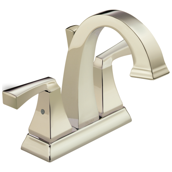 Delta Dryden 2551-PNMPU-DST Two Handle Centerset Bathroom Faucet Polished Nickel-Lavatory-HomePlumbing