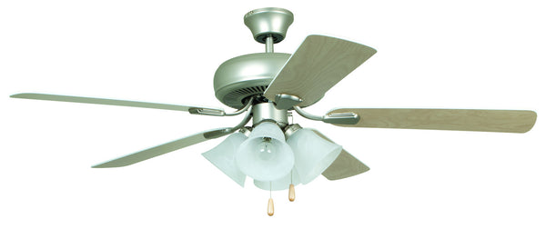 Craftmade PD52BN5C4 52`` Ceiling Fan with Blades Included-Fans-HomePlumbing